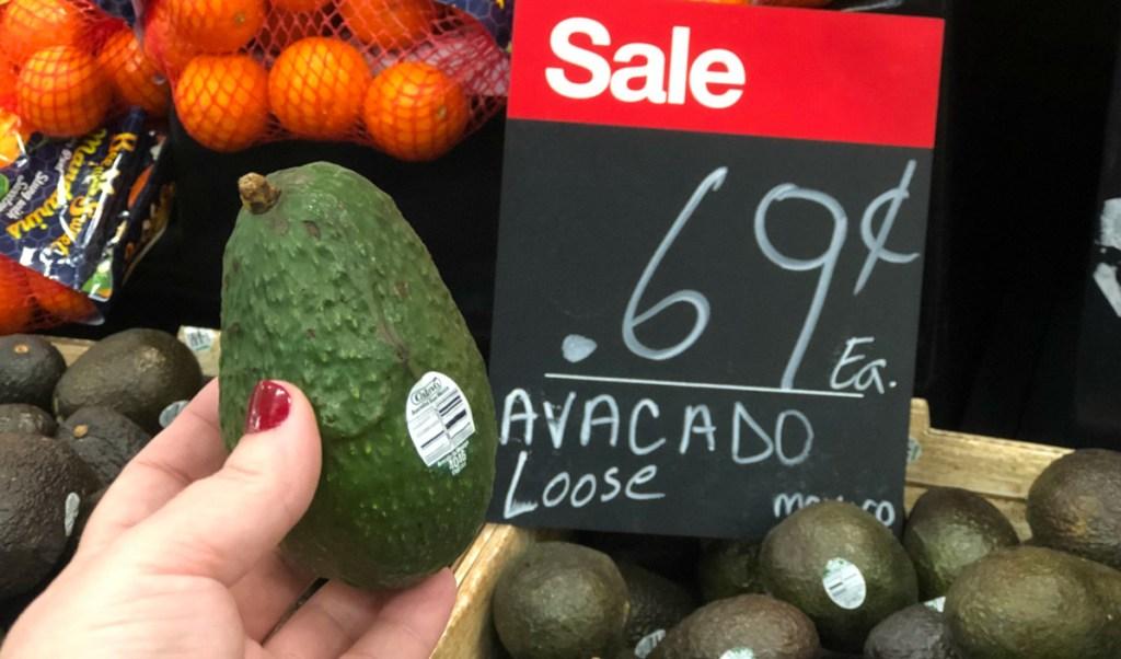 Avocados at Target