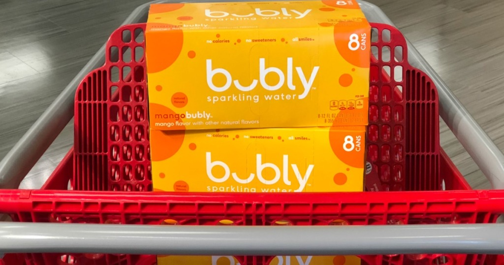 keto target deals - bubly sparkling water