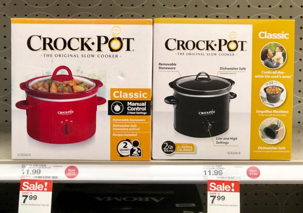 Crock-Pot 2 quart slow cooker