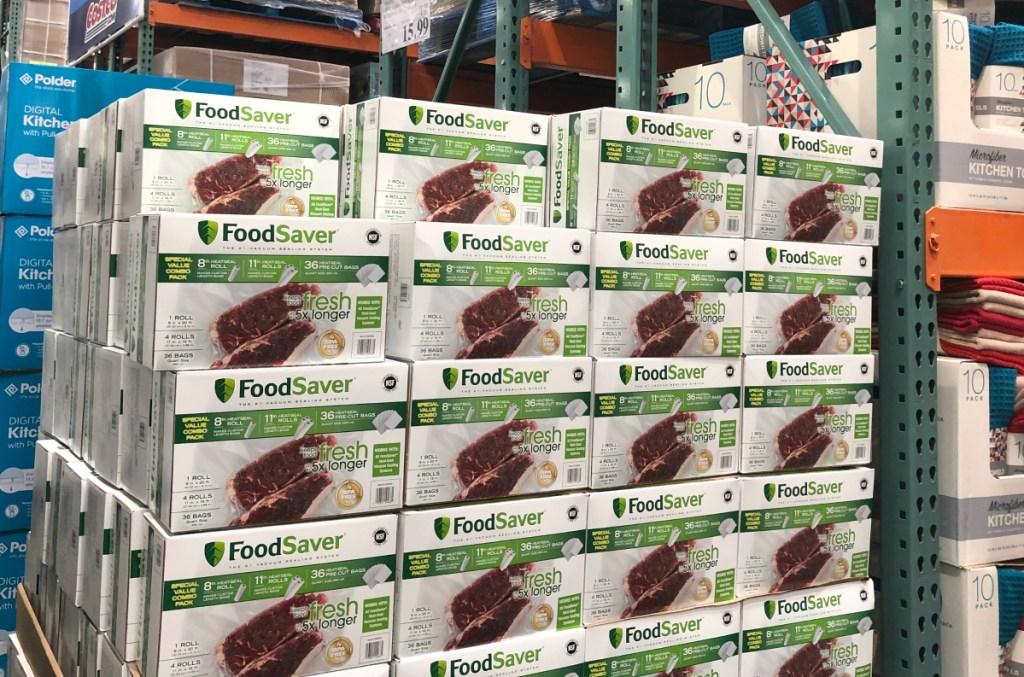 FoodSaver rolls at Costco