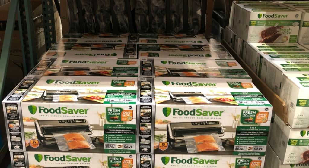 FoodSaver vacuum sealer at Costco