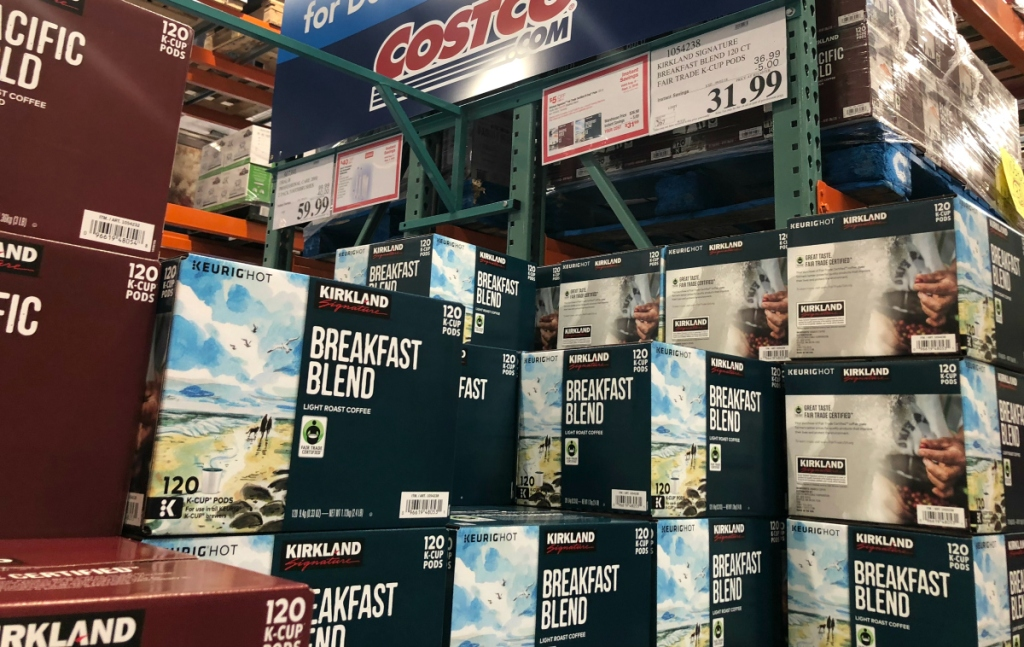 Kirkland Signature K-Cups at Costco