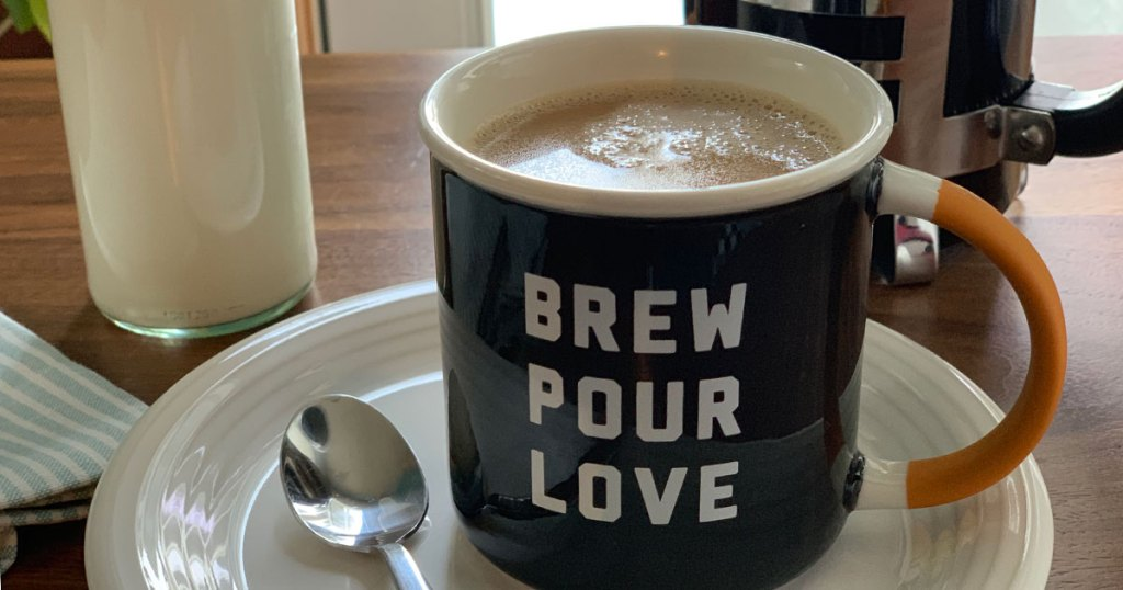 DIY Keto Coffee Creamer Recipe Better Than Coffee-Mate - A cup of coffee with yummy creamer