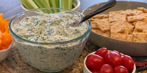 Game Night Keto Spinach Dip—This crowd-pleasing dip will score major points!
