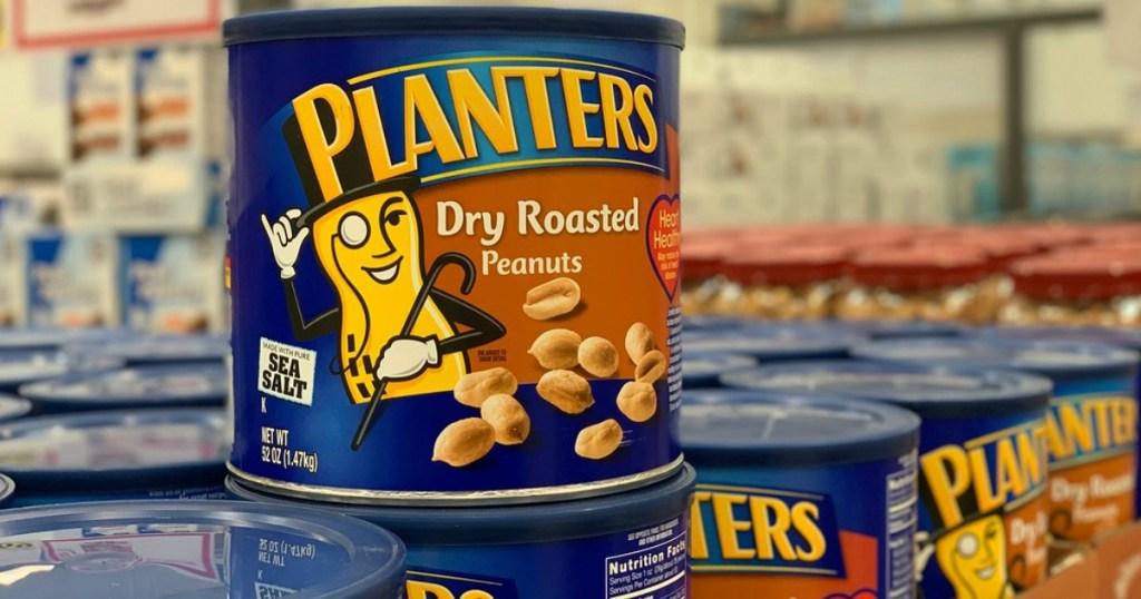 Keto Costco Deals - Planters Nuts Pictured
