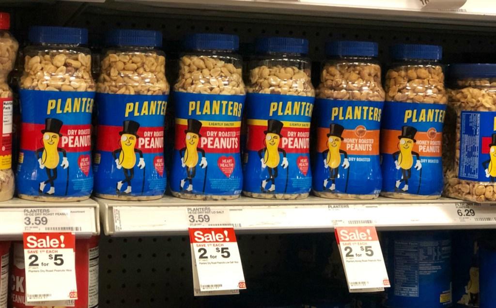 Planters peanuts at Target