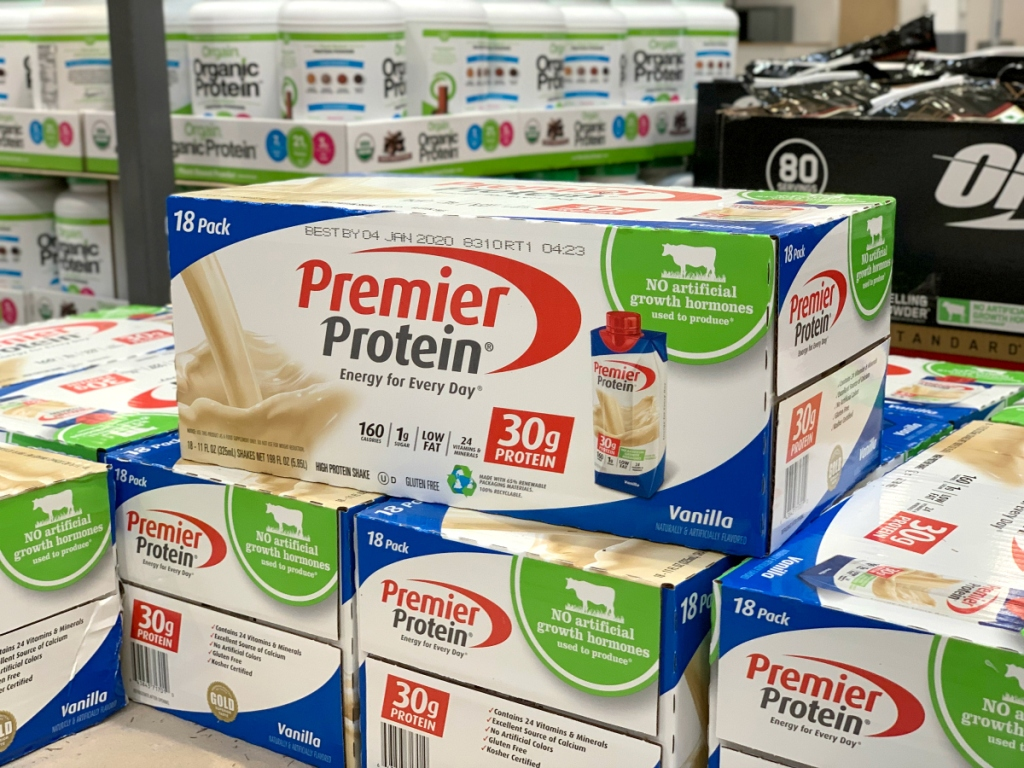 Premier Protein Shakes at Costco