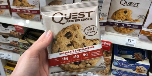 Amazon Prime Members: Save Big on Quest Nutrition Protein Cookies, Bars, Chips and More