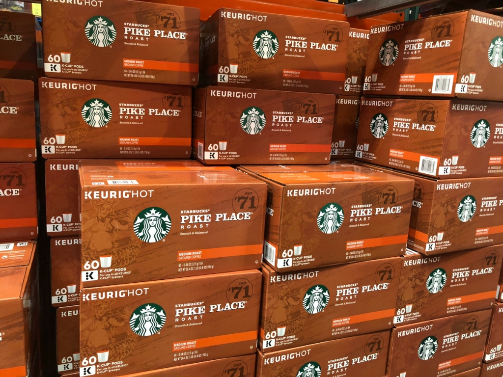 Starbucks K-Cups at Costco