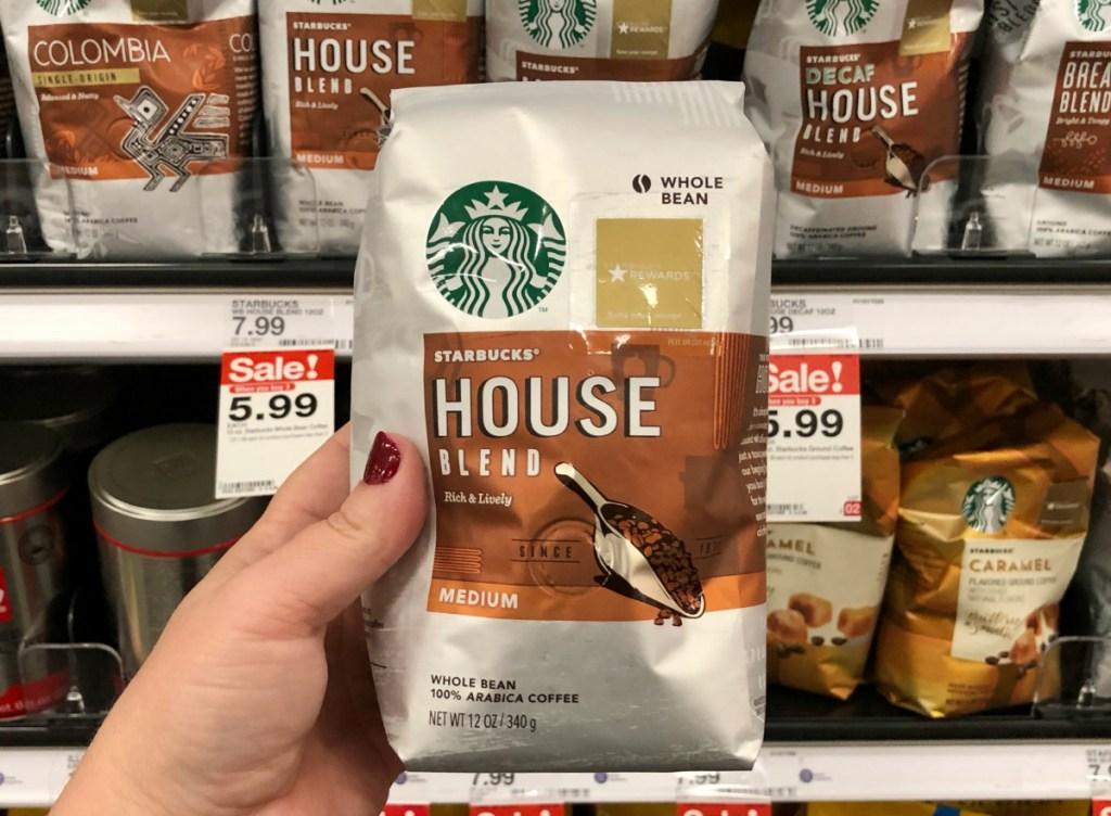 Starbucks coffee at Target