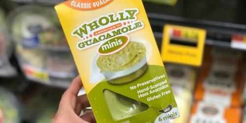 Big Savings on Wholly Guacamole at Target