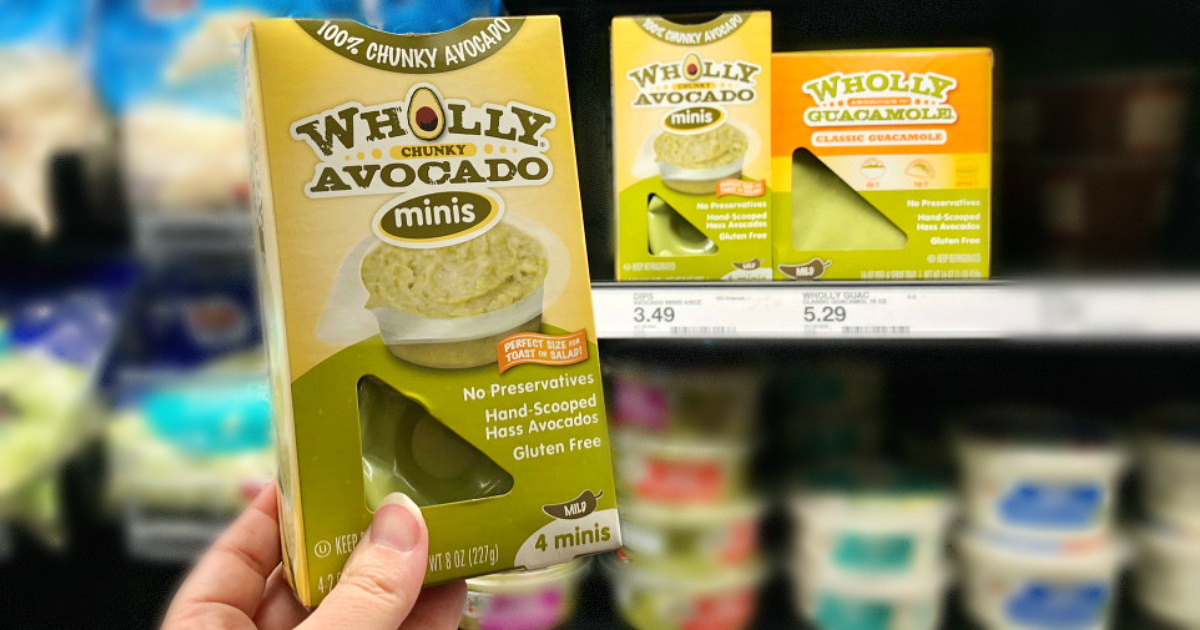 Wholly Guacamole avocado minis at Target