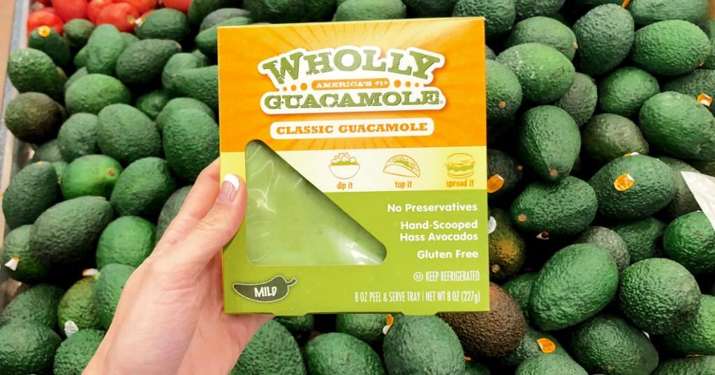 Wholly Guacamole keto snack