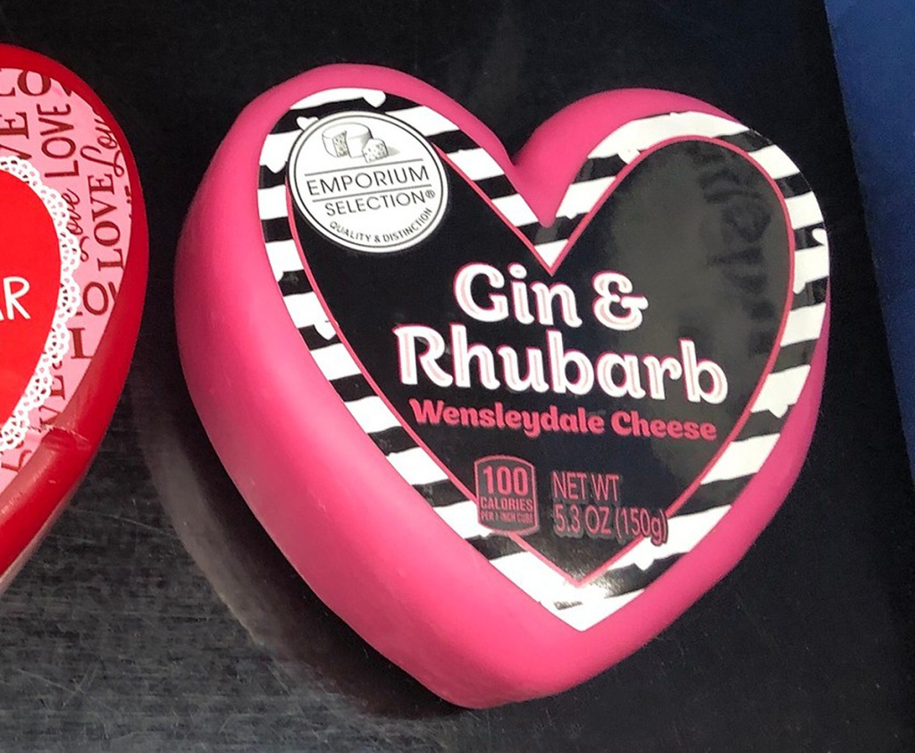 aldi gin rhubarb cheese