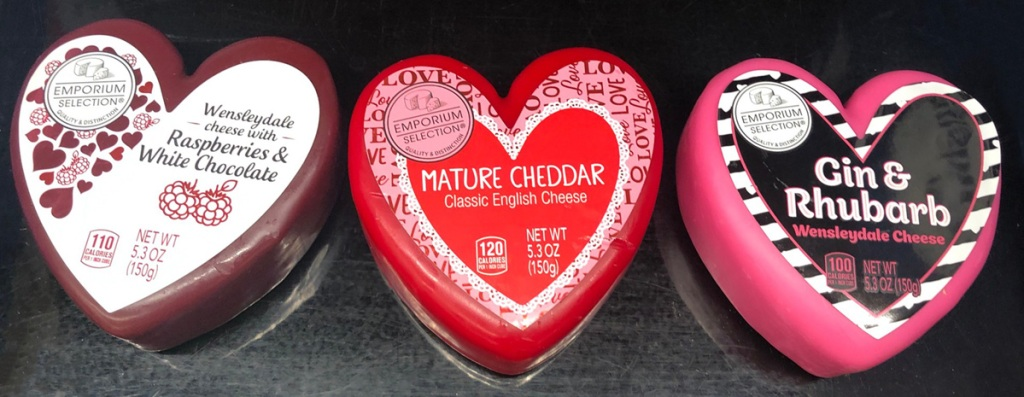 aldi heart shaped cheese