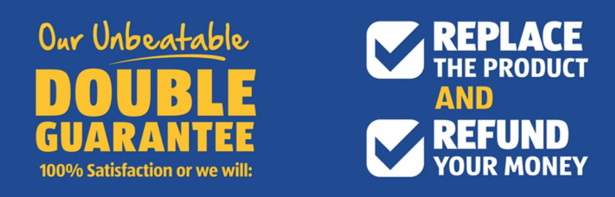 aldi double guarantee sign