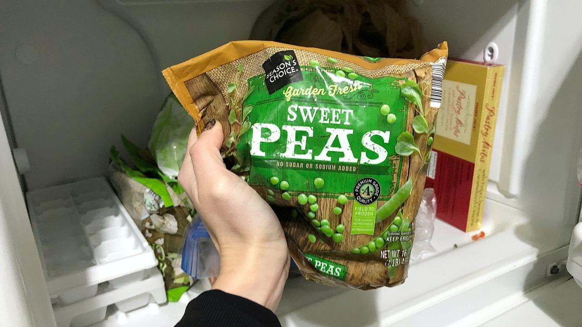 non-keto friendly frozen sweet peas