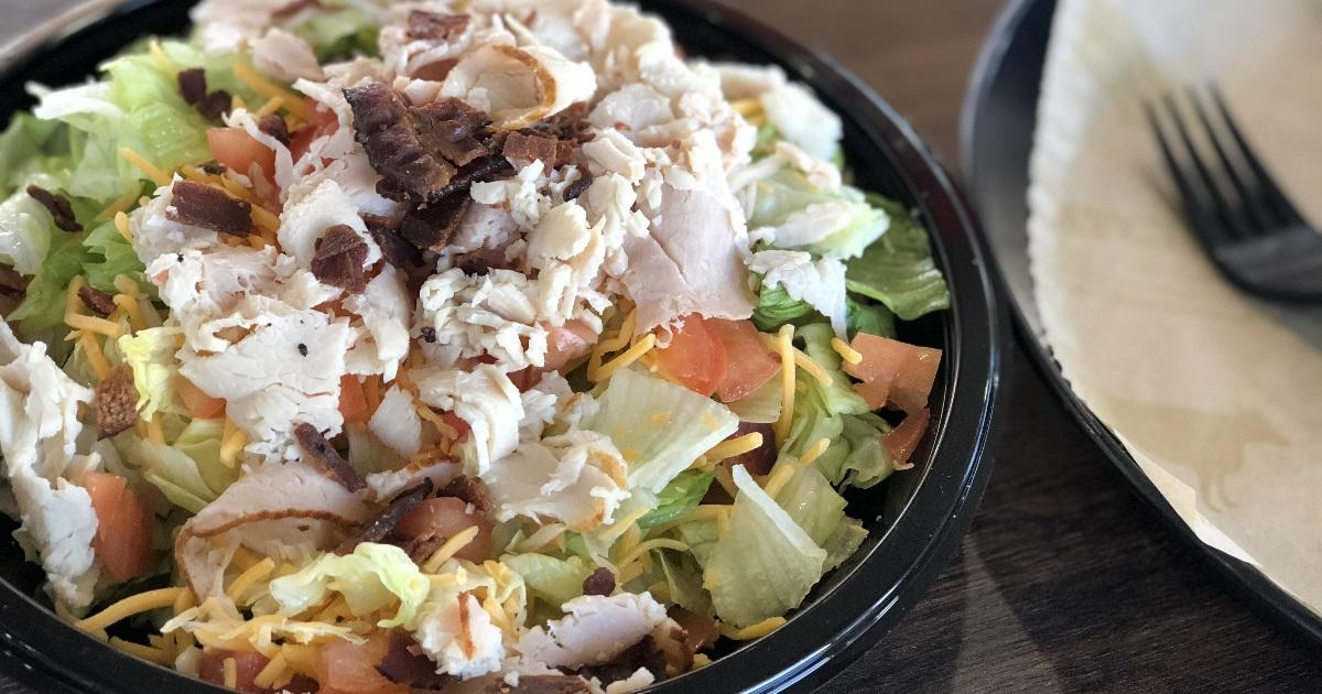 arby's roasted turkey salad