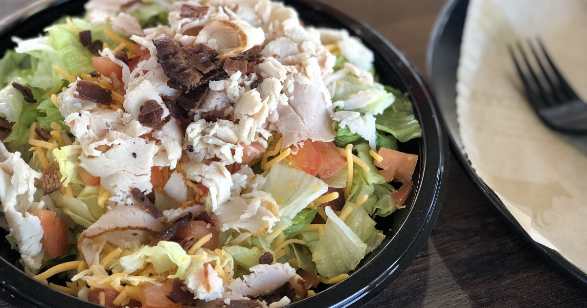 arby's turkey dinner salad