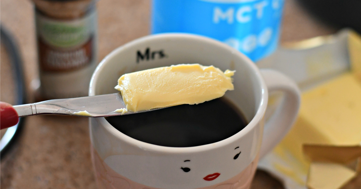 coffee with butter