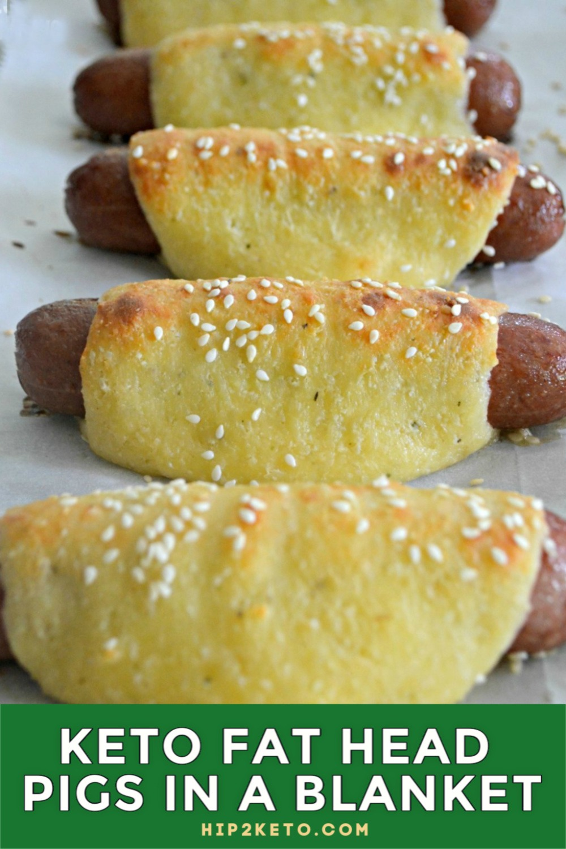 Keto Pigs In A Blanket Using Fathead Dough Hip2keto Recipe