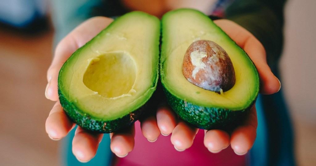 Opening avocado