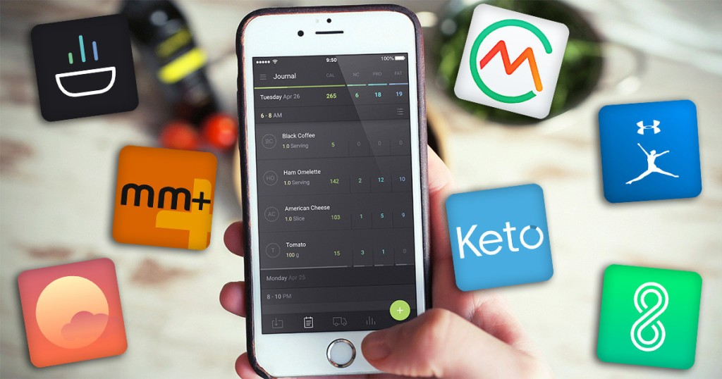 Our 7 Favorite Keto Smartphone Apps We Can't Live Without