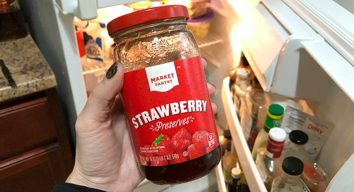 non-keto friendly strawberry preserves