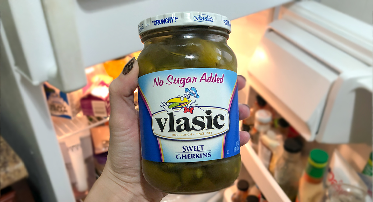 keto and low-carb foods include no sugar added sweet gerkin pickles