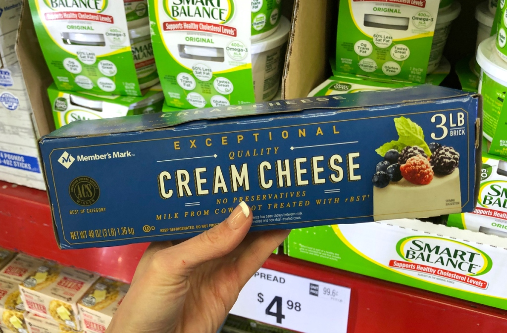 Cream Cheese Sam's Club