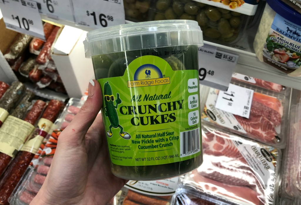 Crunchy Cukes Sam's Club
