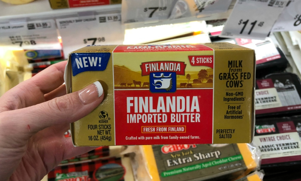 Finlandia butter Sam's Club