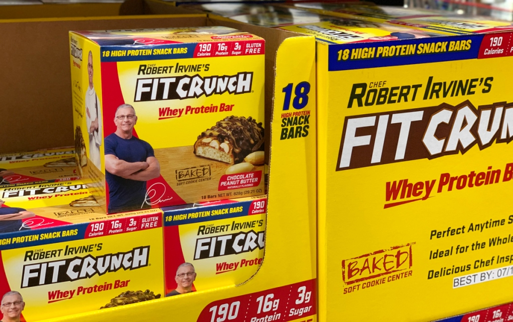 FitCrunch bars at Costco