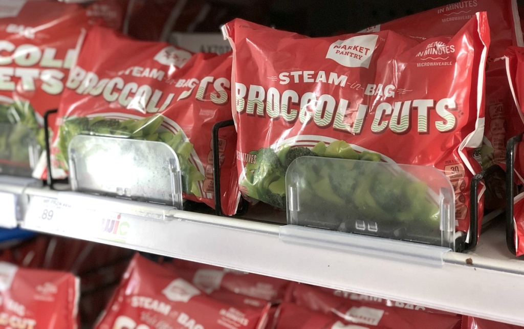Frozen Broccoli at Target