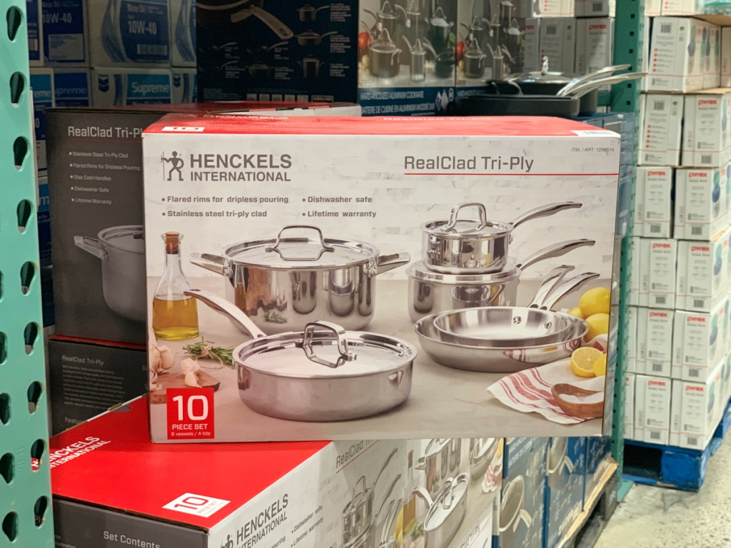 Henckels International Cookware at Costco