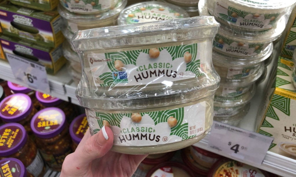 Hummus at Sam's Club