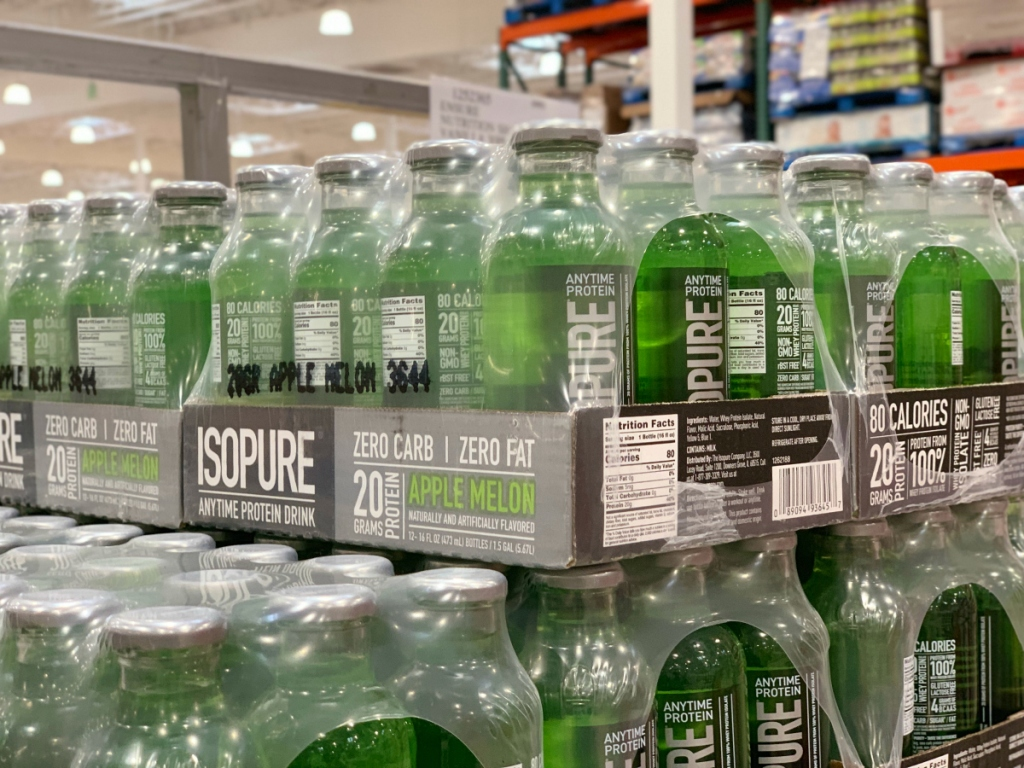 Isopure protein drink at costco