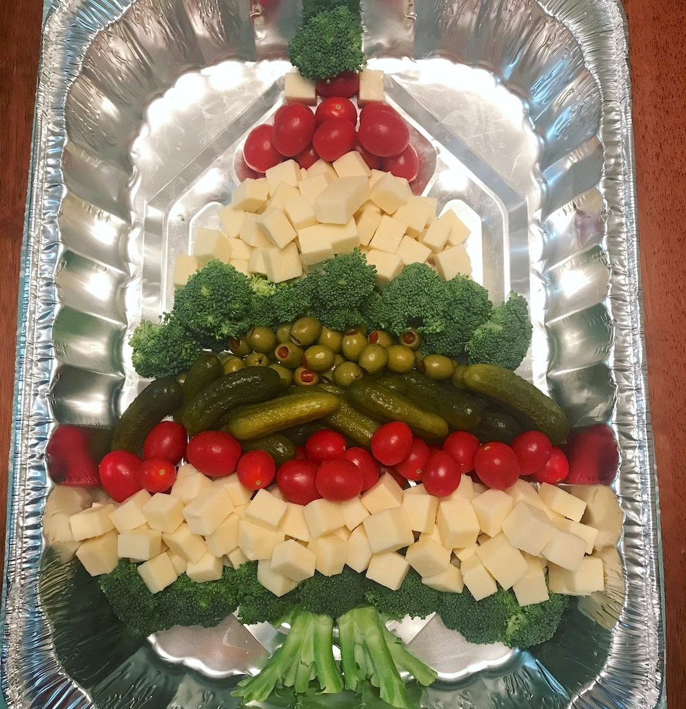 Keto Appetizer Christmas Tree