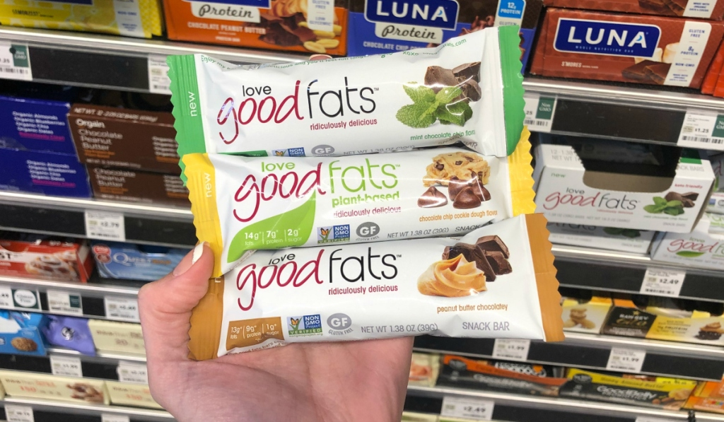 Love Good Fats Nutrition Bars