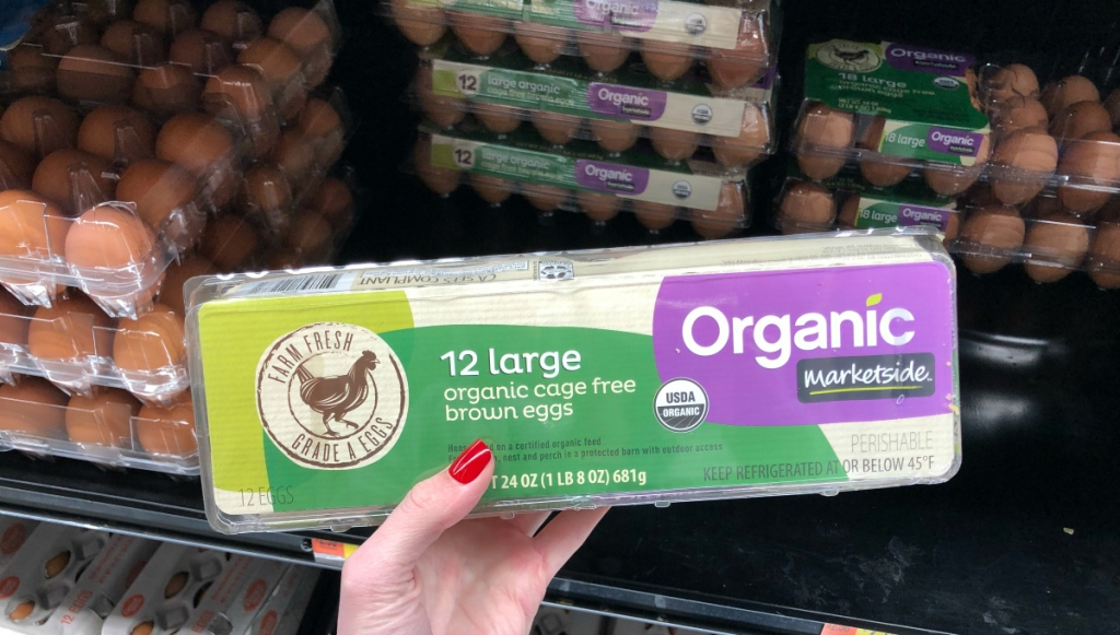 Organic Brown Eggs at Walmart