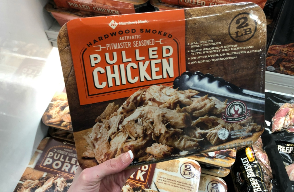 Pulled Chicken Sam's Club