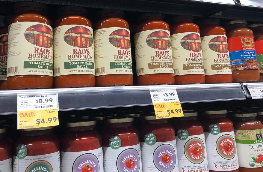 Raos sauce at Whole Foods Market