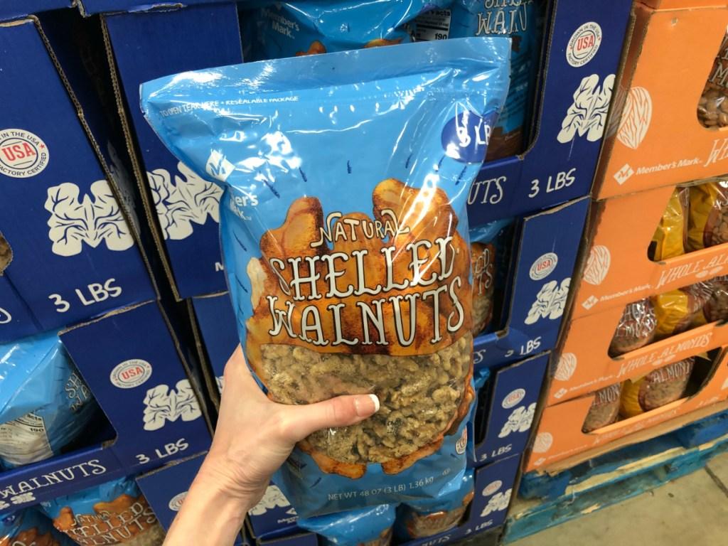 Shelled Walnuts at Sam's Club