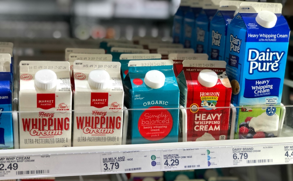 Simply Balanced Organic Whipping Cream at Target