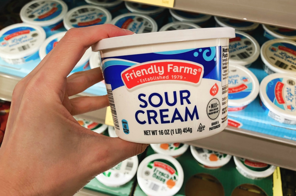 Sour Cream at ALDI