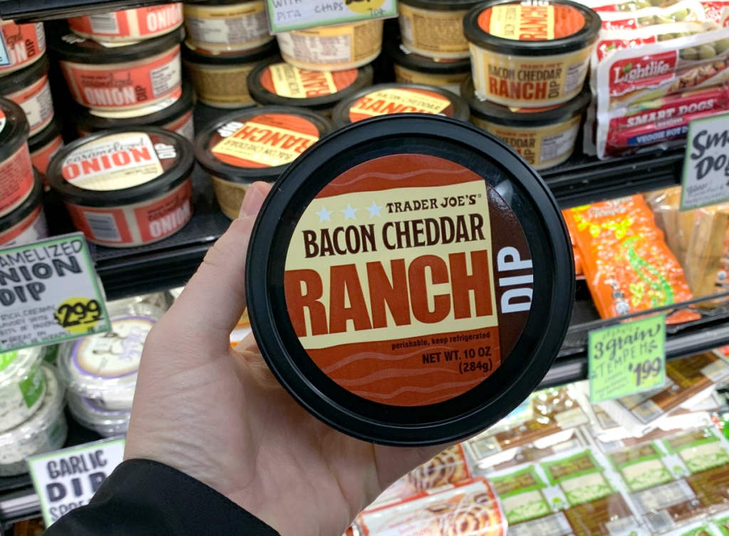 Trader Joe's Bacon Cheddar Ranch Dip