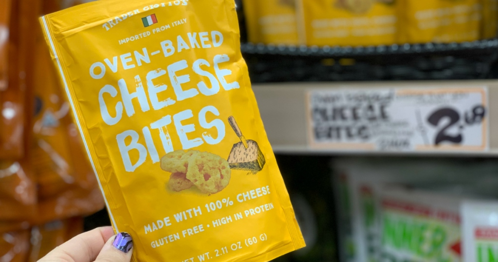 Trader Joe's Oven Baked Cheese Bites
