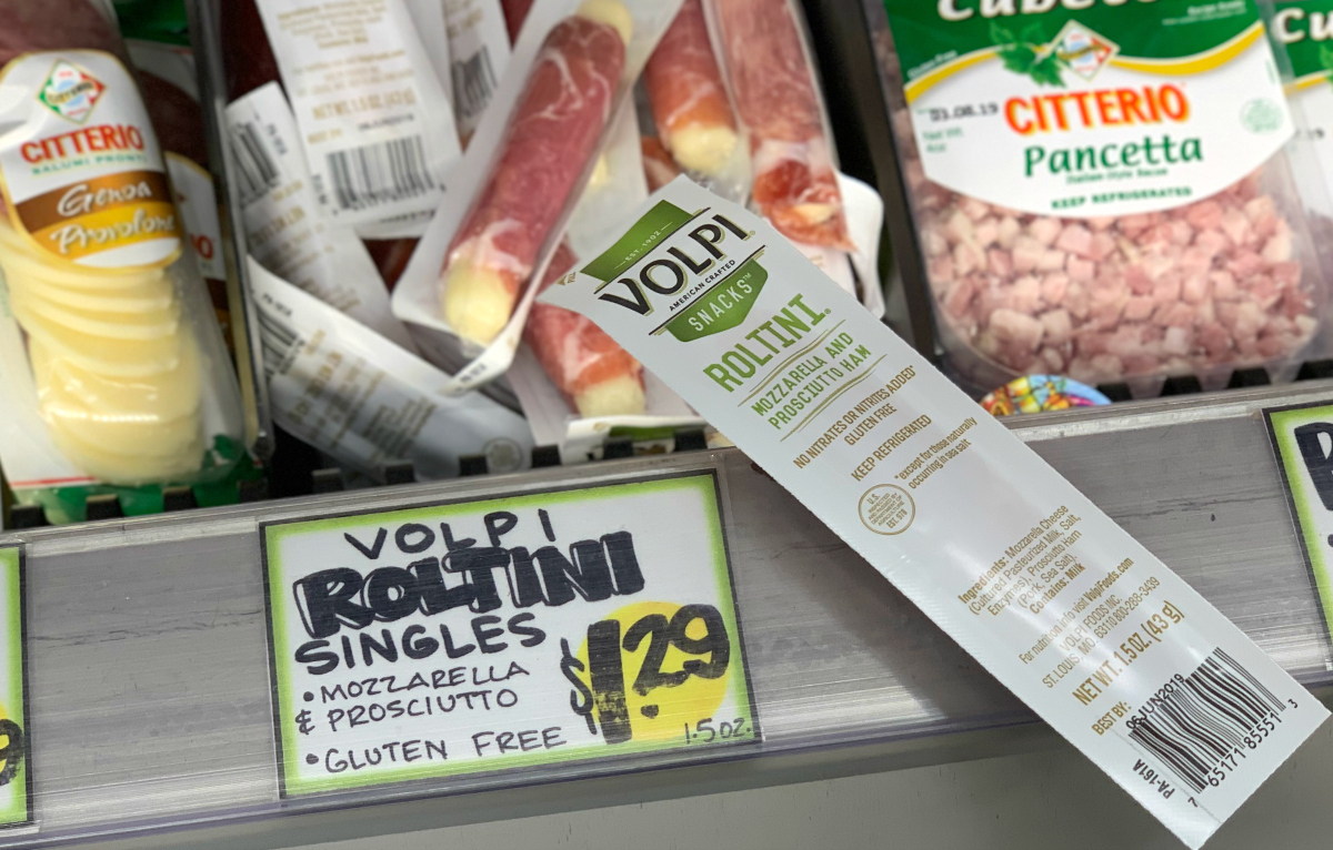 Trader Joe's VOLPI Roltini singles at Trader Joe's