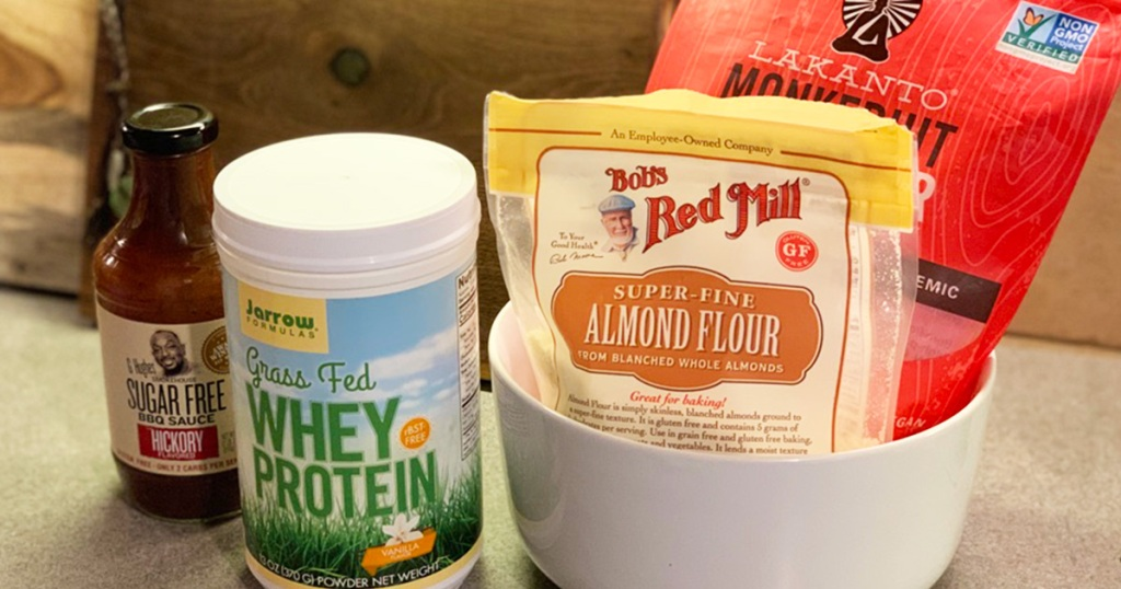 keto grocery products from Vitacost