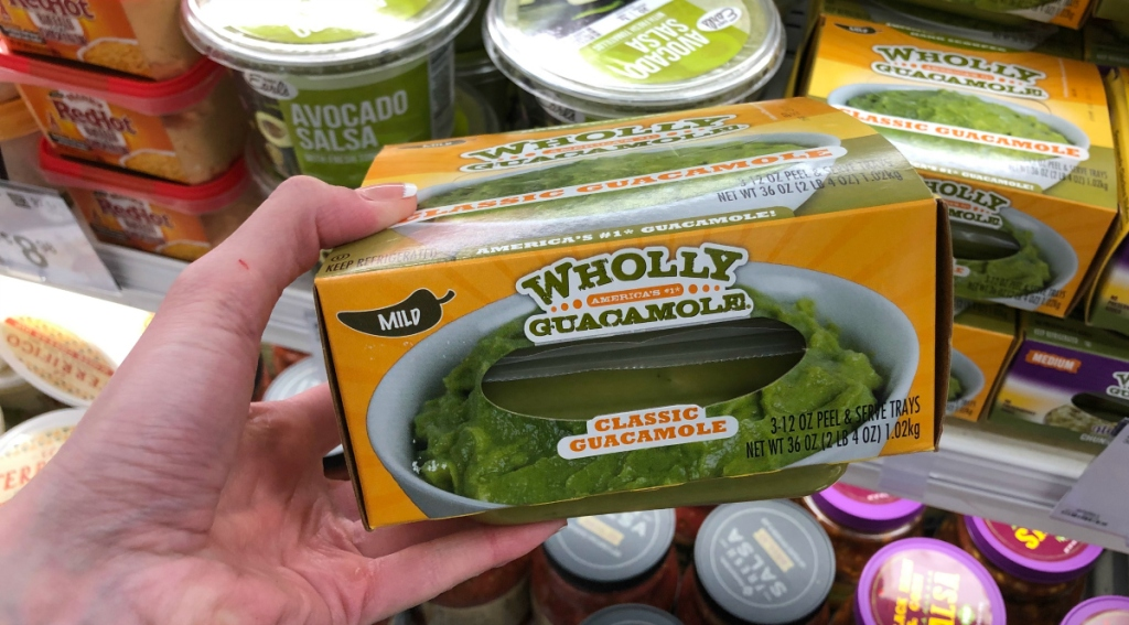 Wholly Guacamole Sam's Club